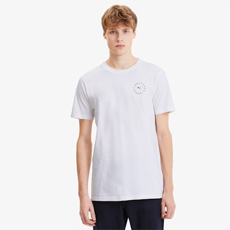 OSG T-shirt voor heren, Puma White, small