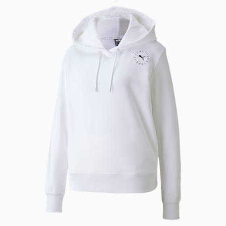 Sudadera con capucha para mujer OSG, Puma White, small