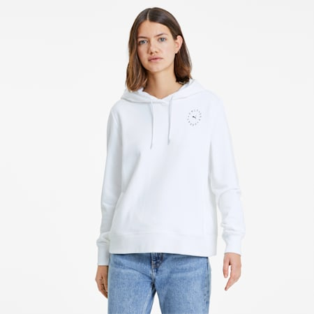 Sweat à capuche Only See Great pour femme, Puma White, small