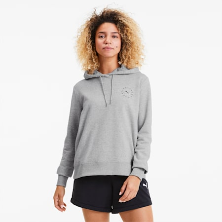 Sweat à capuche Only See Great pour femme, Light Gray Heather, small