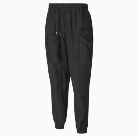PUMA x ATTEMPT Men's Utility Pants, Puma Black, small-SEA