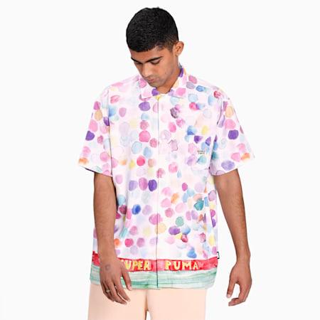 PUMA x KIDSUPER Printed Men's T-Shirt, Puma White-AOP, small-IND