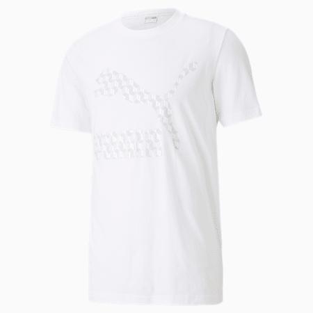 Summer Luxe Graphic Men's Tee, Puma White, small-SEA