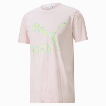 Summer Luxe Graphic Men's Tee, Rosewater, small-SEA
