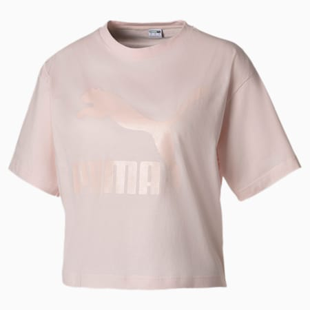 Summer Luxe Style Women's Tee, Rosewater, small-SEA