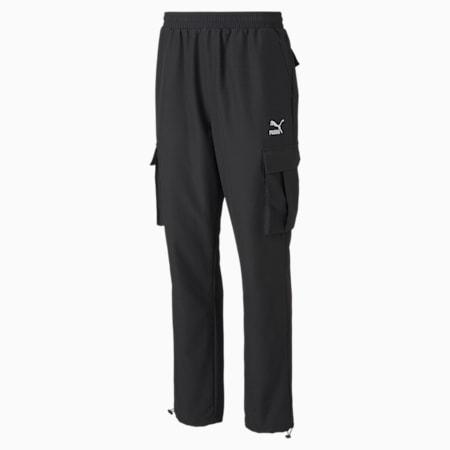 클래식 카고 우븐 팬츠/Classics Cargo Pants, Puma Black, small-KOR