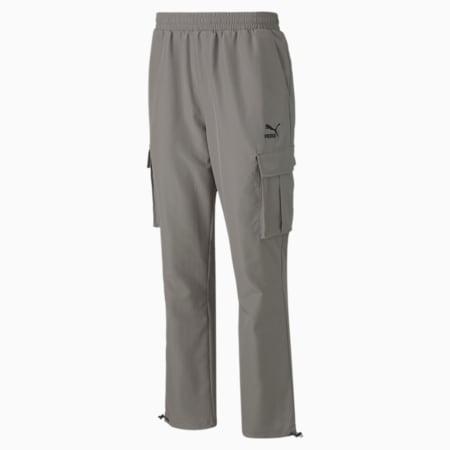 클래식 카고 우븐 팬츠, Ultra Gray, small-KOR