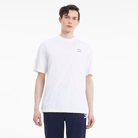 T7 2020 ファッション 半袖 Tシャツ, Puma White, small-JPN