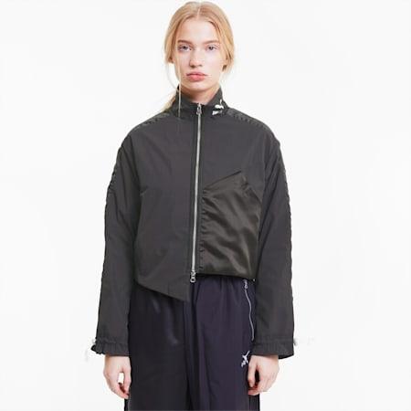 T7 Full-Zip Women's Track Jacket, Puma Black, small