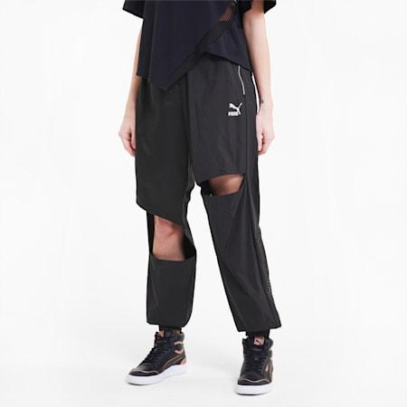 T7 2020 Fashion Women's Track Pants, Puma Black, small