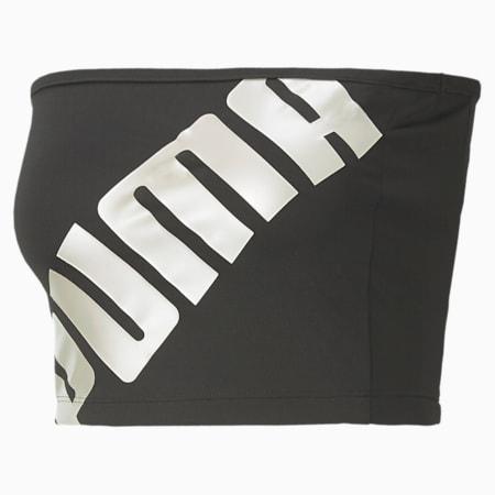 T7 2020 Fashion Damen Bandeau-Top, Cotton Black, small