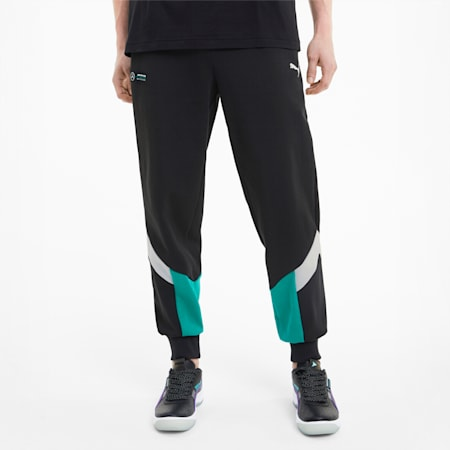 Mercedes-AMG Petronas MCS Men's Sweatpants, Puma Black, small