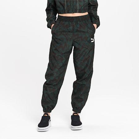 Pantaloni da training da donna in tessuto morbido Empower, Green Gables, small