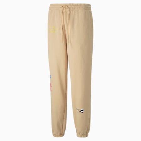 PUMA x KIDSUPER Men's Sweatpants, Honey Peach, small