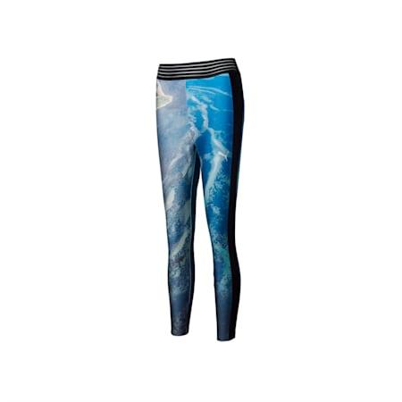 PUMA x LIU WEN Women's Leggings, Puma Black-ocean aop, small
