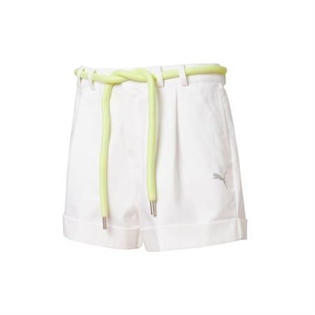 PUMA x LIU WEN Women's Shorts, Puma White, small
