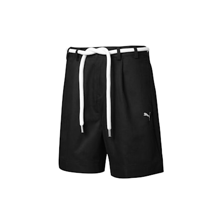 PUMA x LIU WEN Women's Long Shorts, Puma Black, small