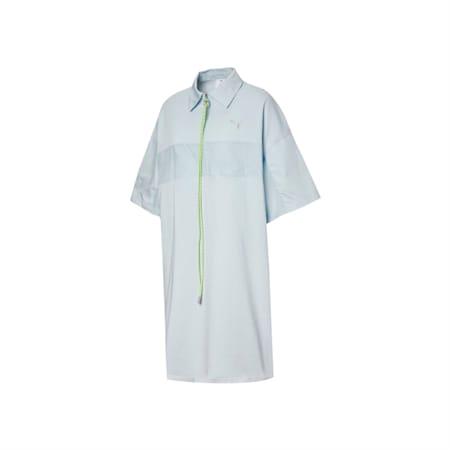 PUMA x LIU WEN Women's Polo Dress, 34 plein air, small