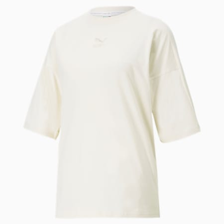 Bye Dye Classics Loose Women's Tee, no color, small