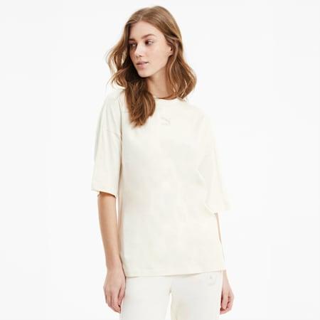 Camiseta Classics Bye Dye Loose para mujer, sin color, small