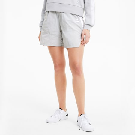 T7 2020 Fashion Damen Shorts, Gray Violet, small