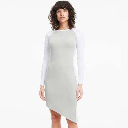 Vestido T7 2020 Fashion para mujer, Gray Violet, small