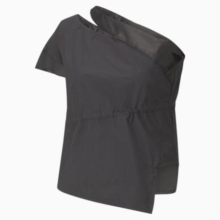 T7 2020 Fashion Women's Top, Cotton Black, small