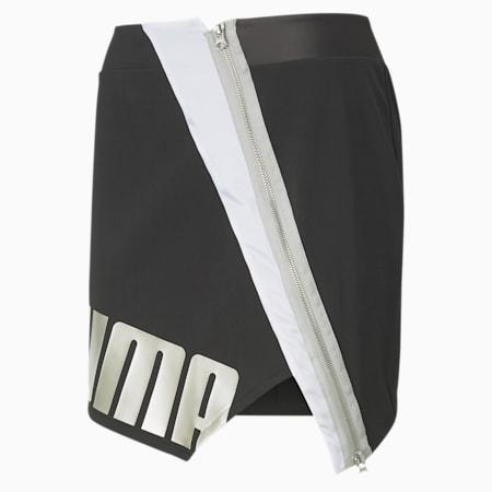 T7 2020 Fashion Women's Skirt, Cotton Black, small