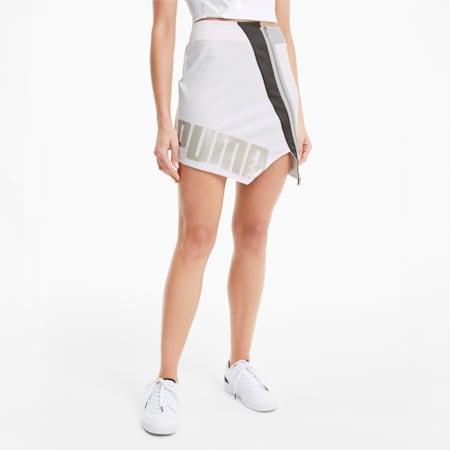 Falda T7 2020 Fashion para mujer, Puma White, small