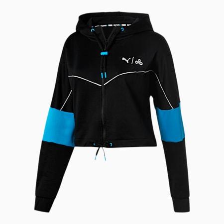 PUMA x CLOUD9 Momentum Women's Track Jacket, Puma Black, small