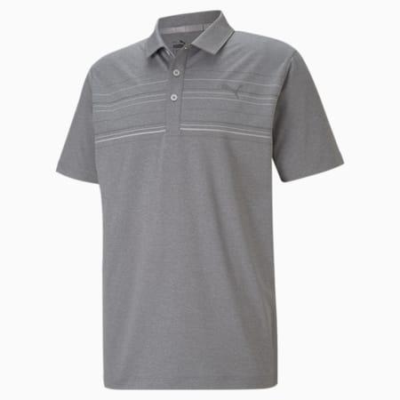 Camiseta tipo poloMATTR Hazard, QUIET SHADE Hthr-High Rise, pequeño