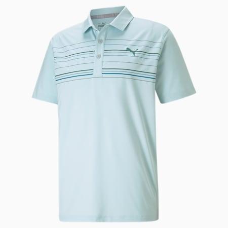 Camiseta tipo poloMATTR Hazard, Blue Glow-Ocean Depths, pequeño