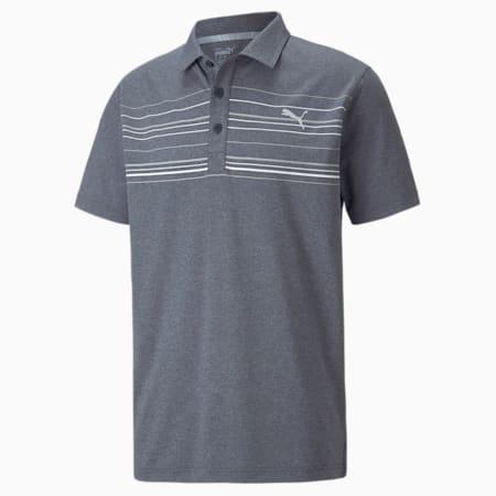 Camiseta tipo poloMATTR Hazard, Navy Blazer Hthr-White, pequeño