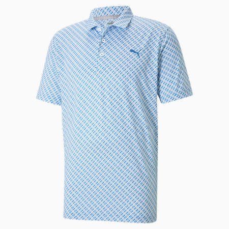 Camiseta tipo poloMATTR Leucadia para hombre, Star Sapphire, pequeño