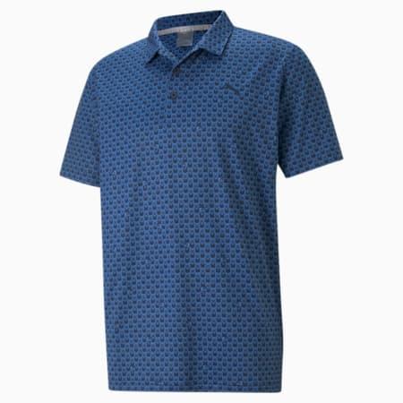 MATTR Roar Men's Golf Polo Shirt, Star Sapphire, small