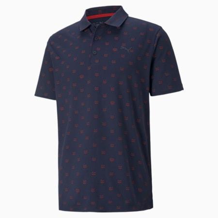 CLOUDSPUN Bandit golfpoloshirt heren, Navy Blazer, small