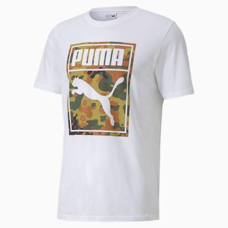 CLASSICS ワイルドキャット グラフィック ロゴ 半袖 Tシャツ, Puma White, small-JPN