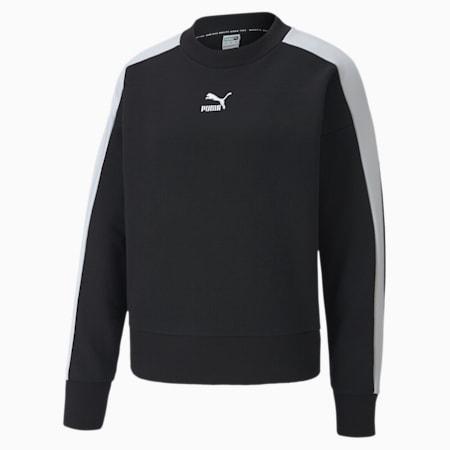 CLASSICS ロゴ ウィメンズ クルーネック スウェット, Puma Black, small-JPN
