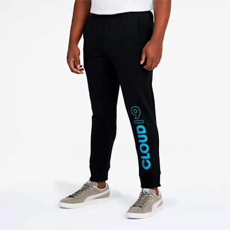 PUMA x CLOUD9 One-Up Men's Joggers, Cotton Black, small