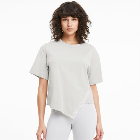 T7 2020 Fashion T-shirt voor dames, Gray Violet, small