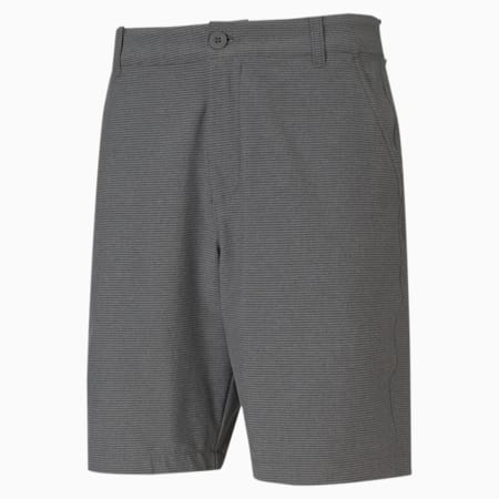 101 Striped Men's Golf Shorts, Puma Black Heather, small-SEA