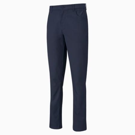 Jackpot 5-Pocket Men's Golf Pants, Navy Blazer, small