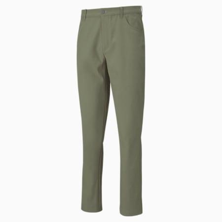 Jackpot 5-Pocket Men's Golf Pants, Deep Lichen Green, small