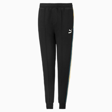 Pantalon en sweat Tape taillé pour enfant, Puma Black, small