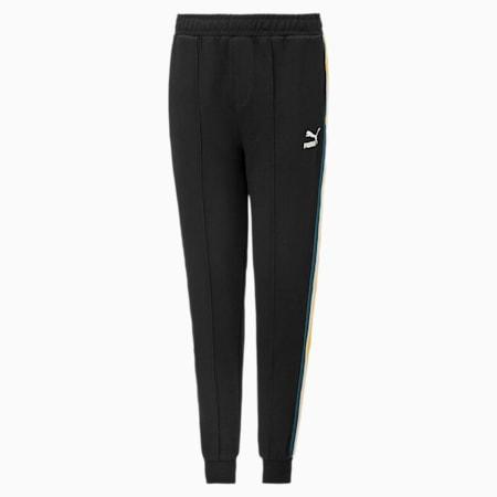 Tape Kinder Taillierte Sweatpants, Puma Black, small