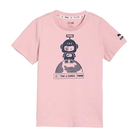 T4C Kids'  T-shirt, Peachskin, small-IND