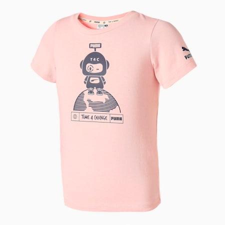 キッズ T4C Tシャツ 92-152cm, Peachskin, small-JPN