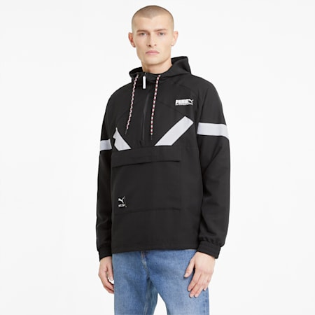 PUMA International Men's Jacket, Puma Black, small
