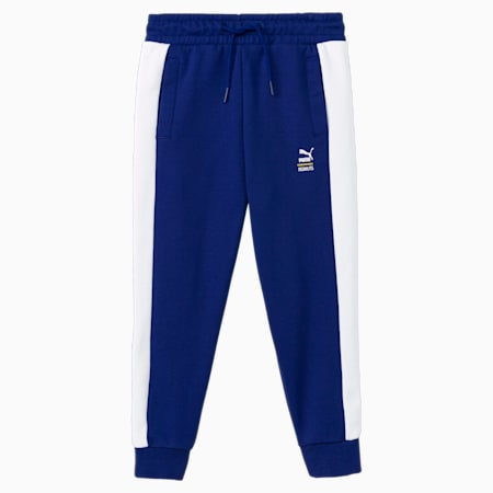 PUMA x PEANUTS Kids' Track Pants, Elektro Blue, small