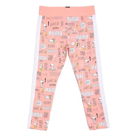 PUMA x PEANUTS Kids' Leggings, Apricot Blush-AOP, small-IND